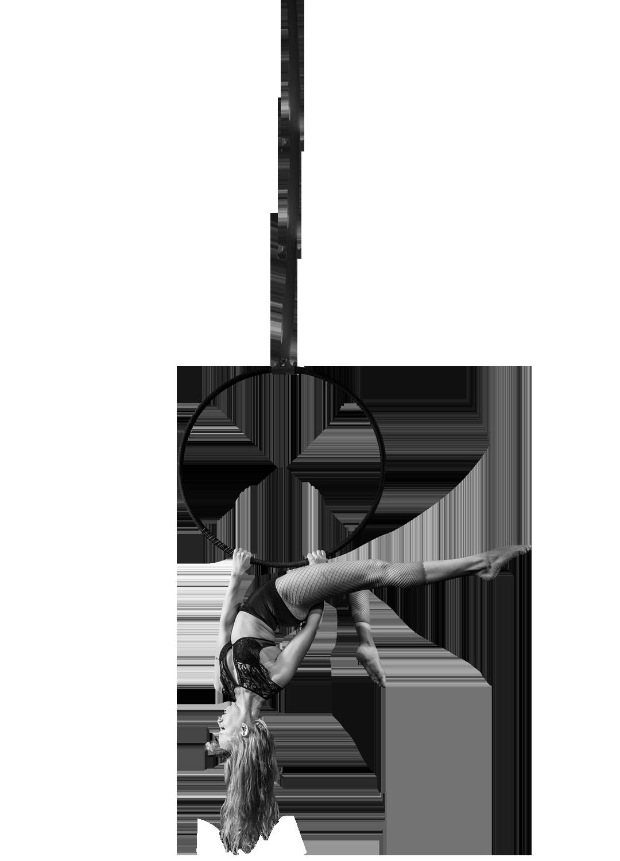 Cirque De Silk Aerial Hoop Performer