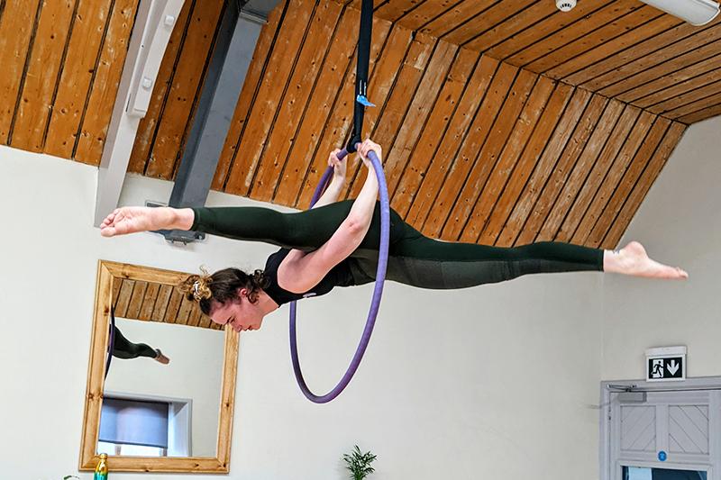 Cirque De Silk Evie Instructor