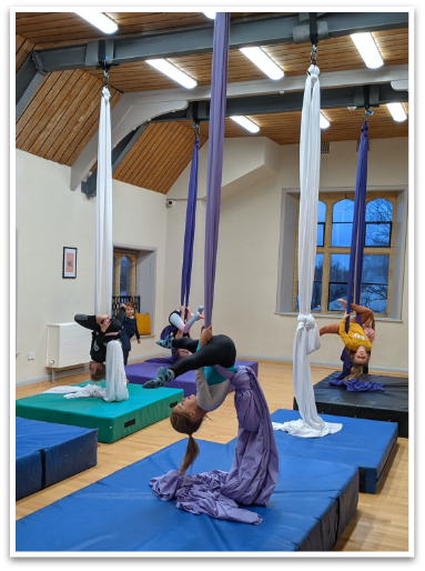 Cirque De Silk Aerial Attic Aerial Silks Class