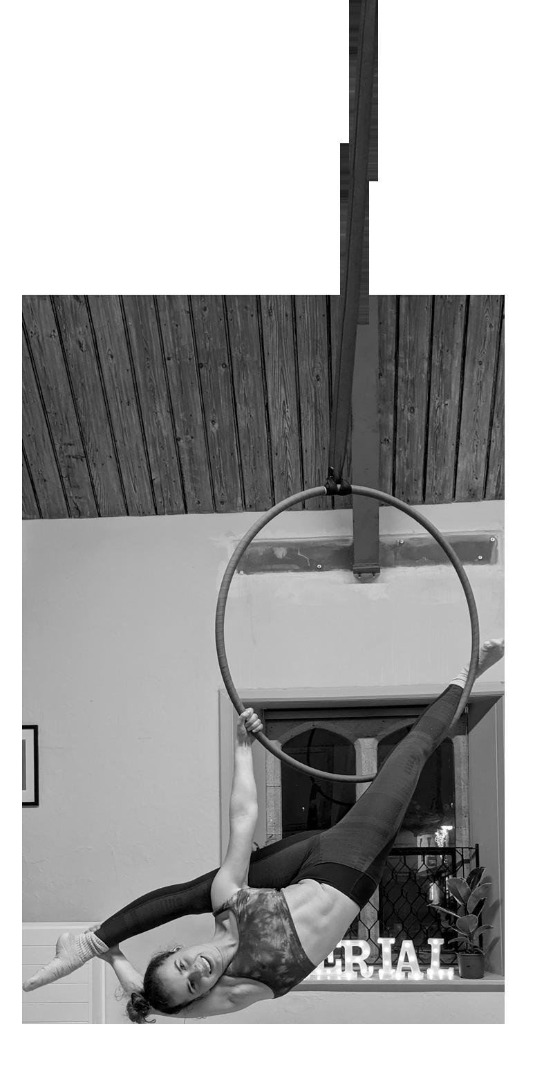 Cirque De Silk Aerial Hoop Teacher
