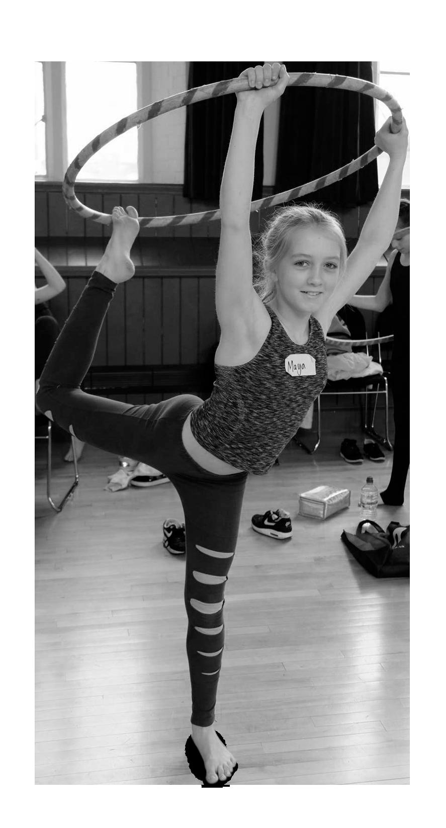 Cirque De Silk Hoop Student