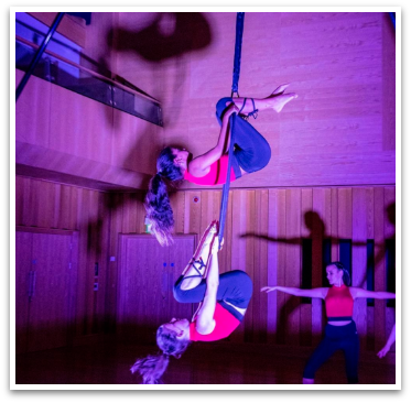 Cirque De Silk Millfield Students Performance