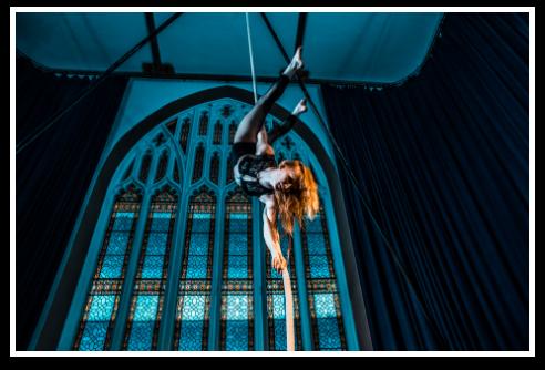 Cirque De Silk Aerial Silks Performance