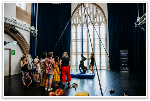Cirque De Silk Workshops