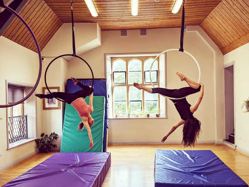 Cirque De Silk Aerial Self Practice