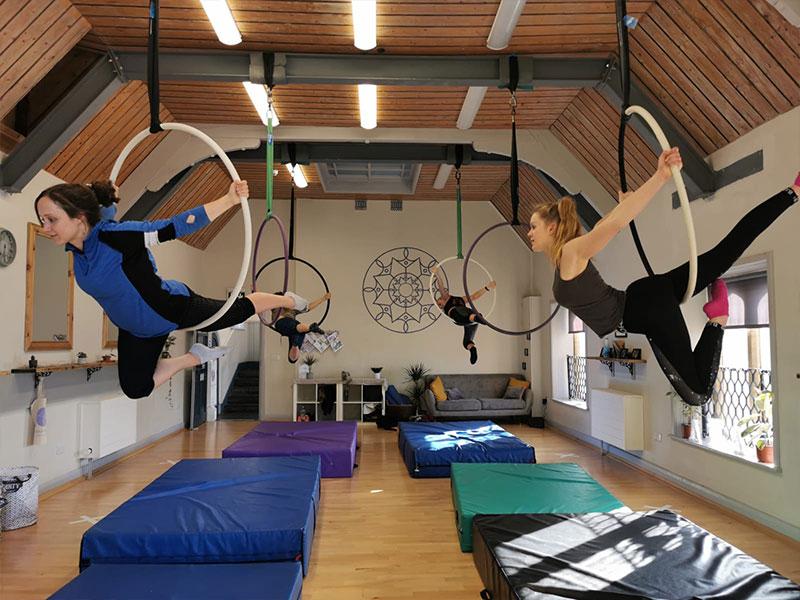 Cirque De Silk Adult Hoop