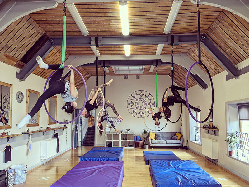 Cirque De Silk Childrens Hoop